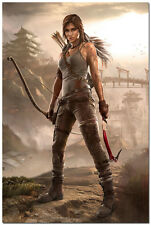 Tomb Raider Lara Croft Game Art Silk Poster 24x36inch Tourniquet Render 04