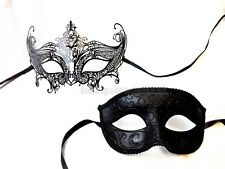 Couple Masquerade Ball Mask Birthday surprise company reunion cocktail Party