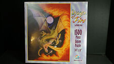 Dragon of Fire 1500 Piece Jigsaw Puzzle New