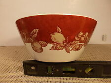 "Waverly China Garden Room Fruit Toile Serving Bowl 8 3/4"" x 3 3/4"""