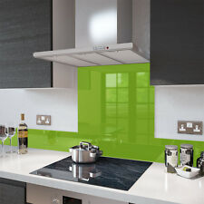 Lime Green - Colour Glass Splashback 60cm x 75cm