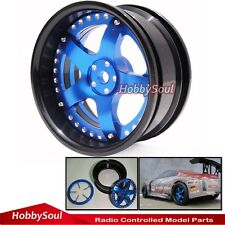 2 Stück New RC 1/10 Alloy Felge Rims Wheels für RC Drift On-road touring Car