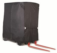 Forklift Heavy Duty Storage Cover Black - Fits up to 8,000 LBS