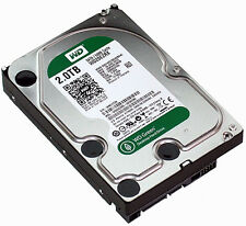 "Refurbished Western Digital WD Green 2TB, Internal 7200RPM, 3.5"" (WD20EZRX) HDD"