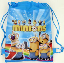 Minions Drawstring Children Bags/Backpack/PE Shool Backpack Toys/NEXT day Shippi