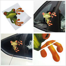 3D Peep Frog Funny Decorative Decal Vinyl Graphics Sticker For Car Off Road SUV