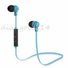 Stereo Wireless Bluetooth HeadSet Handsfree Earphone For iPhone Samsung LG