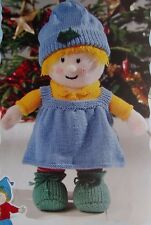 """HOLLY  TOY  ~ ~ KNITTING PATTERN ~ HEIGHT 18""""/46CM   39E"""