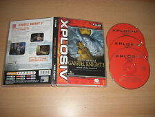 GABRIEL KNIGHT 3 sangue del SACRO SANGUE DEI DANNATI PC CD ROM XP Post veloce
