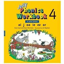 Jolly Phonics Workbook 4-ExLibrary