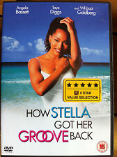 Angela Bassett HOW STELLA GOT HER GROOVE BACK ~ 1998 Drama UK DVD