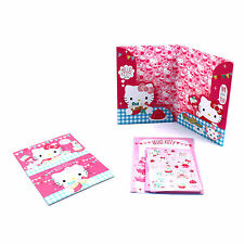 Girls Hello Kitty papier set papeterie A5 lettre enveloppes notes set