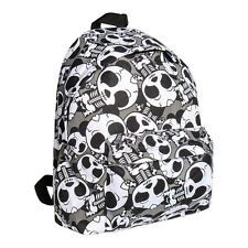 Bleeding Heart Bag Black Skeleton Panda Backpack Rucksack Emo School Bag