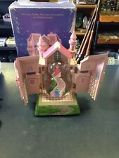 Disney Princess Aurora/Cinderella/Belle/Snow White Castle Staircase Snowglobe