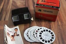 Vintage View-Master viewer Lot of 12 reels