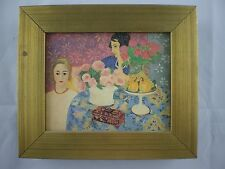 Oil on Board/Canvas Chinese Casket Repro, 1922 HENRI MATISSE French 1869-1954