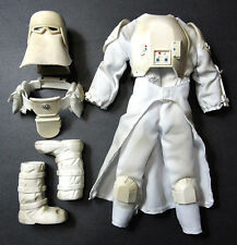 "1/6 Star Wars Snowtrooper Hasbro outfit for 12"" Sideshow Marmit Trooper Custom"