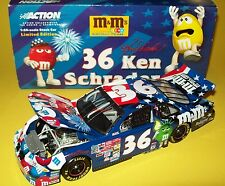 Ken Schrader 2001 M&Ms 4th Of July Fireworks #36 Pontiac 1/24 NASCAR Diecast