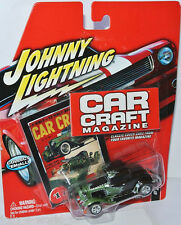 CAR Craft Magazine - 1932 FORD COUPE-Black/Green - 1:64 Johnny Lightning