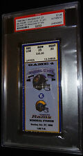 10-27-1996 BALTIMORE RAVENS FRANCHISE 1ST OT OVERTIME WIN TICKET PSA