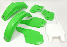 UFO Kawasaki Motocross KX 500 1996 - 2002 Plastic Kit OEM colours