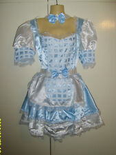 Alice in Wonderland Dorothy Wizard Of Oz Country Girl Fancy Dress Costume M New