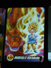 DRAGON BALL GT Z DBZ MORINAGA WAFER CARD CARDDASS PRISM CARTE 372 3D W3D JAPAN