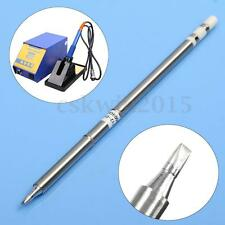 1Pcs T12-D24 Replace Solder Soldering Iron Tip For Hakko Shape-2.4D PCB Repair