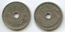 G9757 - Rumänien 5 Bani 1906 J KM#31 Carol I.1866-1914 Romania