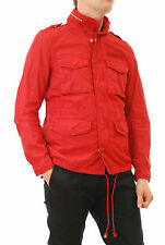 Deus ex Machina mens jacket size M, red barens color, 4 front pockets BCF56