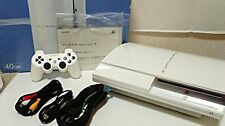 PlayStation 3 PS3 Console System 40gb Ceramic White Japan *GREAT COND - COMPLETE