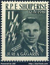 ALBANIE GAGARINE N° 566 NEUF ** SANS CHARNIERE