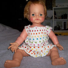 Vintage IDEAL Kissy Baby Doll with Bent Knees 22""