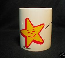 Vtg Hardees Star Coffee Cup Mug Good Morning Made from Scratch Biscuits Gooood