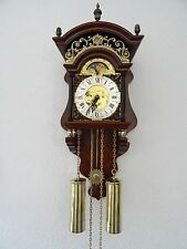 Dutch Sallander Wall Clock Moonphase 8 day Holland (Zaanse Warmink Junghans era)