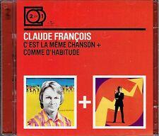 CD - CLAUDE FRANCOIS - C'est la meme chanson + Comme d'habitude