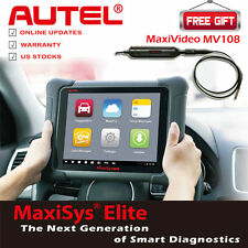 Autel MaxiSys Elite Auto Diagnostic Tool J-2534 Reprogramming Better MS908P Pro