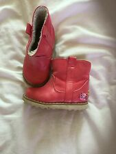 Girls Next Pink Ankle Boots