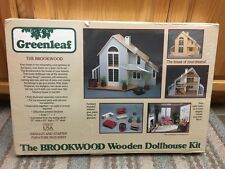 Greenleaf - The Brookwood Dollhouse - Modern Wood / Wooden Dollhouse Kit NEW