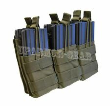 MOLLE Triple Stacker for Six 5.56 mm .223 Rifle Mag Pouch OD Green (CONDOR MA44)