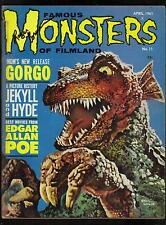 FAMOUS MONSTERS OF FILMLAND #11  VG (LON CHANEY/GORGO/ROGER CORMAN AUTOGRAPHED)