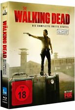 *THE WALKING DEAD - STAFFEL 3 *UNCUT* DEUTSCH *BLU-RAY* NEU/OVP