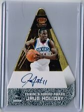 Jrue Holiday 2011-12 Crown Royale Preferred Gold Auto Card SP /10