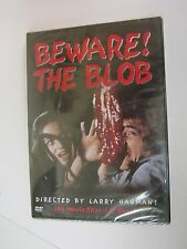 BEWARE THE BLOB (DVD, 2000) RARE OOP -  Robert Walker Jr  -  Larry Hageman