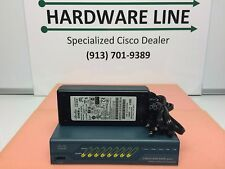Cisco ASA5505-SEC-PLUS Firewall, Unlimited Users & Security Plus w/ Power Supply
