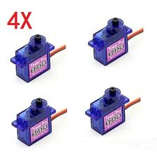 4 X TowerPro SG92R Mini Micro Servo 9g 2.5kg For RC Airplane
