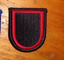 ARMY PATCH, AIRBORNE BERET FLASH, US SPECIAL OPERATIONS COMMAND-AFRICA