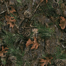 MIXED PINE CAMO RUSTIC LEAF BRANCH CONCEAL UPHOLSTERY FABRIC PILLOWS CHAIRS