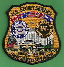 US SECRET SERVICE UNIFORM DIVISION POLICE PATCH WHITE HOUSE