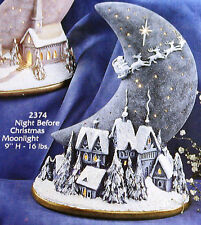 Ceramic Bisque Night Before Christmas Moonlight Gare 2374 Ready To Paint